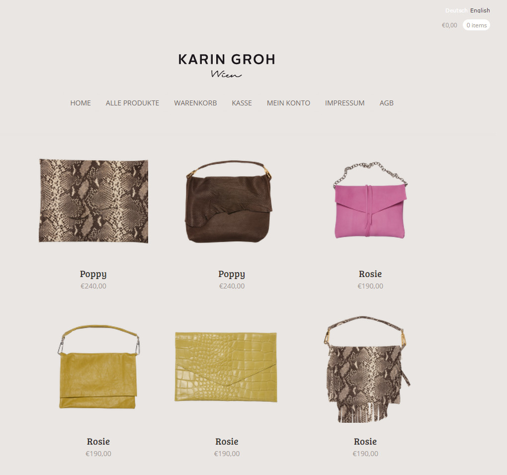 Karin Groh Shop